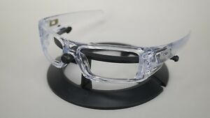 44c44f1eb9a Image is loading NEW-Authentic-Oakley-GASCAN-Polished-Clear-Frame-OO9014-