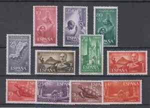 FERNANDO-POO-ESPANA-ANO-1961-COMPLETO-MNH-NUEVO-SIN-FIJASELLOS-EDIFIL-196-206