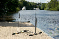Ruk Sports Sup Stand Up Paddle Board Or Surf Board Display Storage Rack