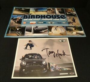 TONY-HAWK-Poster-Signed-Autographed-Kevin-Staab-Birdhouse-Poster-Set-of-2-Skater