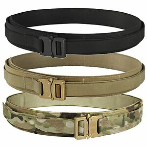 Condor US1019 Tactical Cobra Military USA Made Pistol Metal Buckle Belt S-3XL