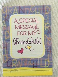 New Blue Mountain Arts Card FOR MY GRANDCHILD