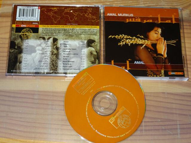 AMAL MURKUS - AMAL (HEMISPHERE) / ALBUM-CD 2000 MINT-
