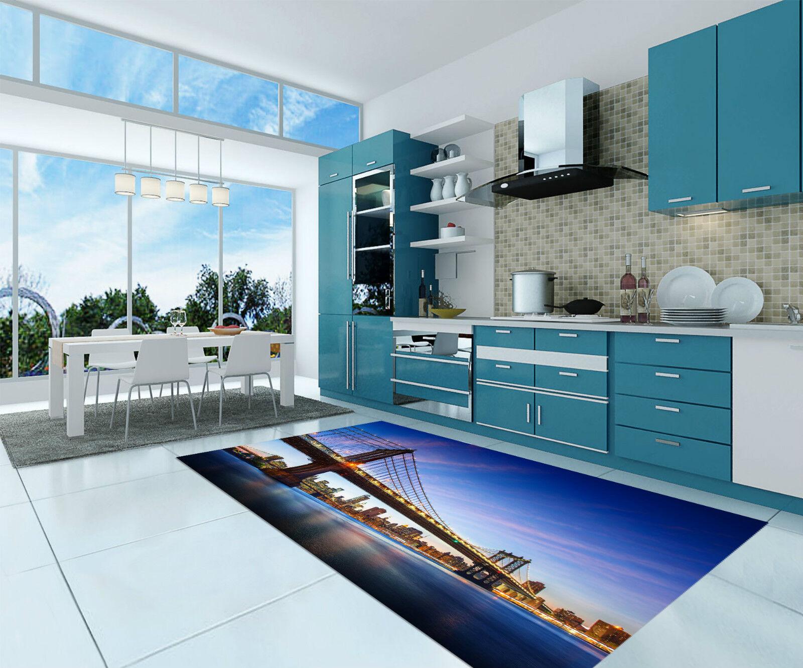 3D New York 277 Kitchen Mat Floor Murals Wall Print Wall Deco AJ WALLPAPER CA
