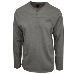 Vans-Off-The-Wall-Men-039-s-Lindmar-Long-Sleeve-Henley-Tee-Retail-40