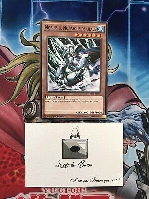 "x2 le Monarque de Glace/"" SR01-FR007 /""Mobius Yu-Gi-Oh"