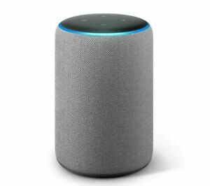 Amazon Eco Plus 2nd generación-built-in casa Inteligente Hub Alexa-Gris oscuro