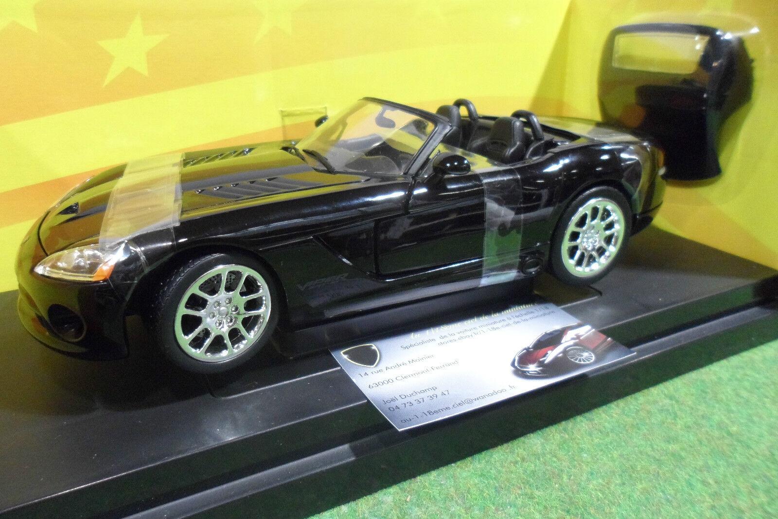 DODGE VIPER SRT-10 Cabriolet 1 18 d AMERICAN MUSCLE ERTL 33249 voiture miniature
