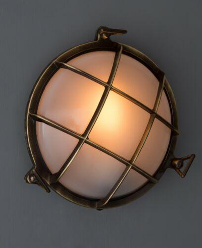Antepara Light-Luz de parede estilo Industrial//ao ar livre dentro de casa-Bronze Envelhecido