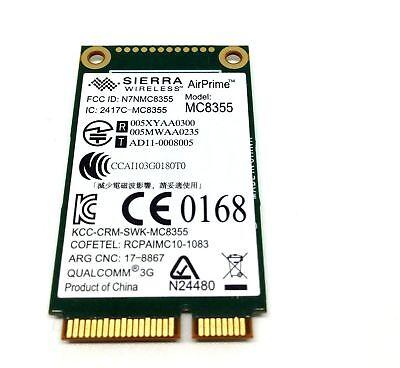 HP Qualcomm GOBI3000 MC8355 3G Module UN2430 WWAN GPS Card SPS#634400-001