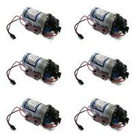 (6) Shurflo 12v Volt Demand Water Pumps Camper Rv Trailer Motorhome Boat