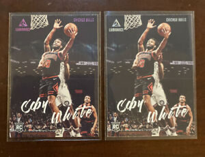 2019-20-Luminance-PINK-Base-145-Coby-White-RC-Chicago-Bulls-SP-Rookie