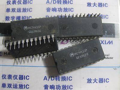Motorola MC14433P 14433 LOW POWER CMOS A//D CONVERTER 3 1//2 digit LSI