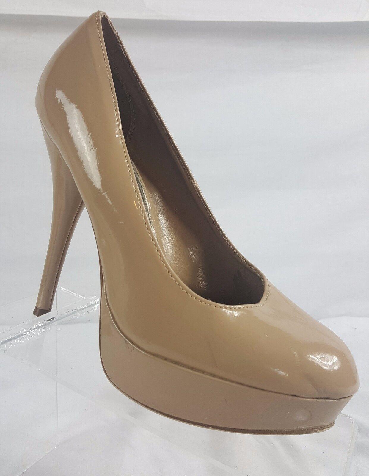 Brash Taupe Heels Stilettos Womens 9 Pumps Heels Taupe 5.25