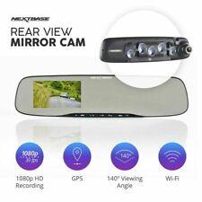 Nextbase Mirror GPS Wi-Fi Dash Cam 1080P Full HD Car Video Recorder