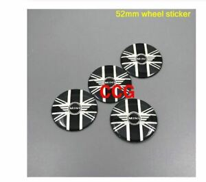 4pcs-52mm-54mm-colorful-England-Flag-MINI-WORKS-52mm-wheel-sticker-4
