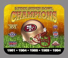 Item#334 San Francisco 49ers Championship Helmet Mouse Pad