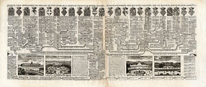 Antique-Print-GENEALOGY-FRANCE-VALOIS-PARIS-Chatelain-1732