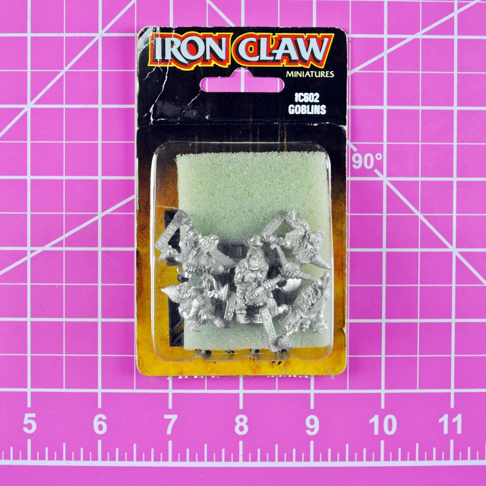 Warhammer Iron Claw Goblins NIB Metal, Rare OOP Classic Citadel Bob Olley Goblin