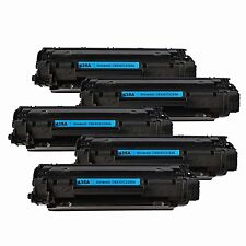 5 PK CE285A Toner Cartridges For HP 85A 285A LaserJet P1102 P1102W M1212NF MFP