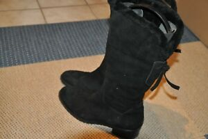 3726da3161 Damen Stiefel KONSTANTIN STARKE NEW YORK Gr 41 lammfell fell schwarz ...