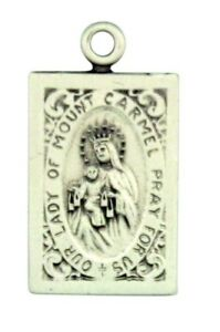 Our-Lady-of-Mount-Carmel-with-Sacred-Heart-7-8-034-Sterling-Silver-Scapular-Medal