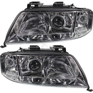 Xenon-Scheinwerfer-Set-fuer-Audi-A6-4B-C5-Bj-09-99-05-01-D2S-H7-Limousine-Avant