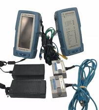Agilent Wirescope Pro N2640a 100 Lan Cable Certifier Set Cat5e Cat6 Cat6a Ghz