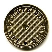 75007 Les égouts de Paris, Plaque d'égout, 2015, Monnaie de Paris