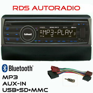 AUTORADIO-Gelhard-GXD670-mit-CD-MP3-USB-Bluetooth-fuer-Ford-Focus-Mondeo-Galaxy