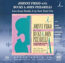 Live from Studio A in New York City by Johnny Frigo (CD, Nov-1990, Chesky Record