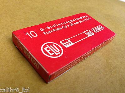 189 020 500V Fuses Box of 10 70 065 63 50KA or SIBA F3.15A