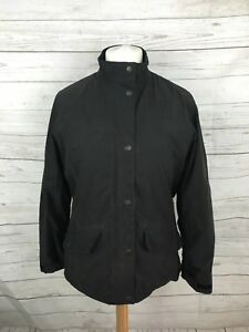 Barbour-Femme-FULBOURN-manteau-court-UK14-noir-tres-bon-etat