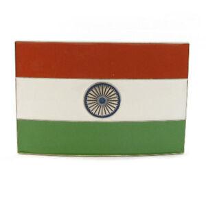 Gürtelschnallen Kleidung & Accessoires Kompetent Tiranga Indian Flag Belt Buckle India Desi Hindu Pride Bollywood Fit Snap Belt