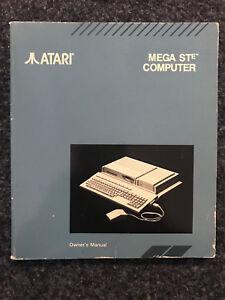 Atari-mega-ste-equipo-owner-039-s-manual-cuadernillo-for-Collector-039-s-rare-en