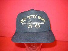 USA:Baseballcap:USS KITTY HAWK   CV - 63. 1 Stück