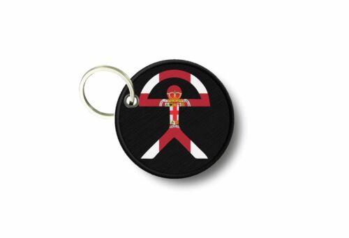 Keychain keyring print patch morale indalo warrior rainbow almeria r2