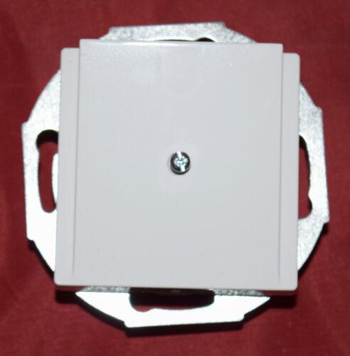 Merten 296325 Zentralplatte Leistungsauslass brillant aktivweiß glänzend B28