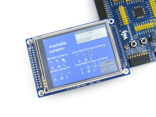 """Waveshare 3.2"""" 320*240 DOTS Multicolor Graphic Touch LCD SPI TFT Display ILI9325"""