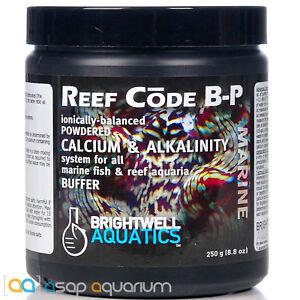 Brightwell-Reef-Code-B-Powder-250-grams-Alkalinity-Buffer-Fast-Free-USA-Shipping