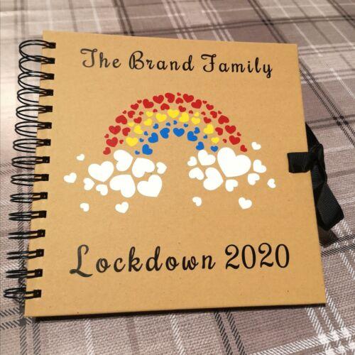 Christmas Memories 2020 Lockdown Vinyle Autocollant Pour spirale Scrap Book