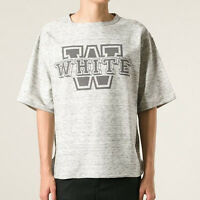 White Mountaineering Oversized Short Sleeve W Logo Sweatshirt Sweater 2/med