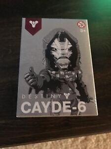 Details about Destiny 2: Cayde-6 Vinyl Figure Preorder Gamestop Exclusive  Bonus Figurine