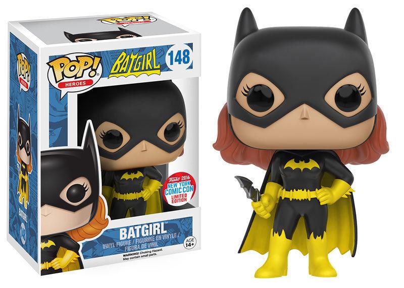 Exclusiv Nycc Dc Batgirl 9.5cm Pop Heroes Heroes Heroes Vinyl Figur Funko 148 16ac26
