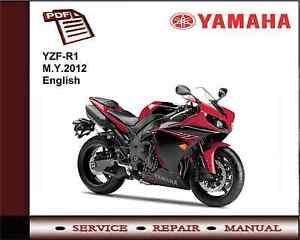 yamaha yzf r1 yzfr1 m y 2012 workshop service repair manual ebay rh ebay ie 2011 Yamaha R1 2012 Yamaha YZF R1 1000