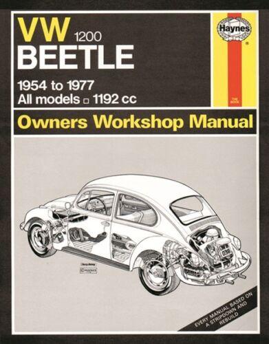 Manual Volkswagen Beetle 0036 HAYNES