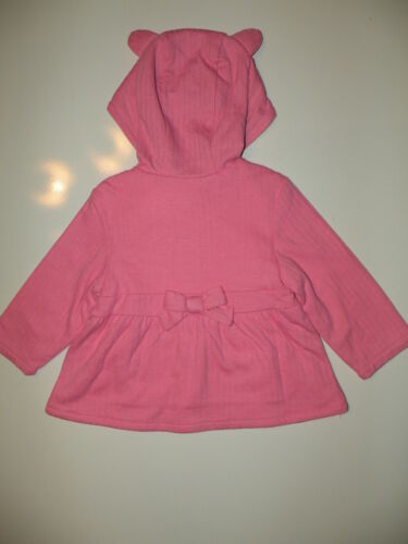 Details about  /GYMBOREE SMART KITTIES PINK KITTY KNIT HOODED JACKET 6 12 NWT