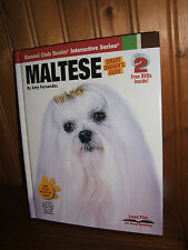 Maltese by Amy Fernandez Includes 2 DVD's Hardcover Book (NEW)