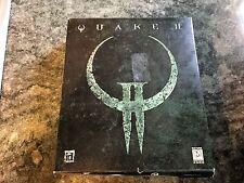 Quake II (2) for Windows PC. Complete in Big Box.