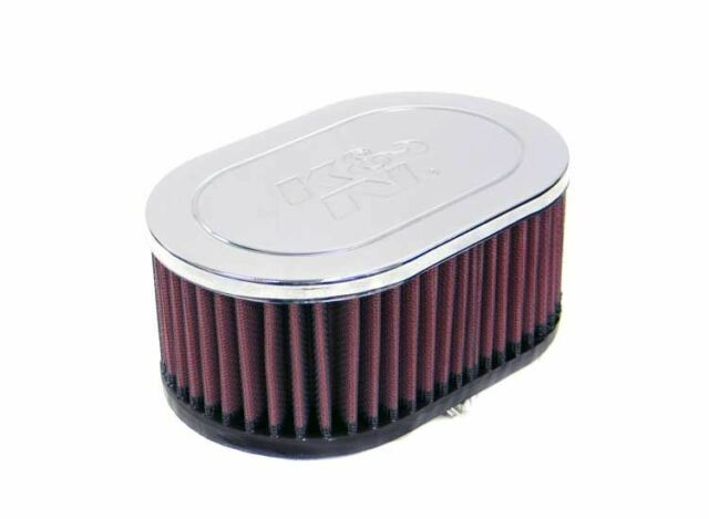 3-1//2T 4-3//8H Universal Air Filters 4-15//16B RC-9160 K/&N Universal Clamp-On Air Filter 3-1//8FLG